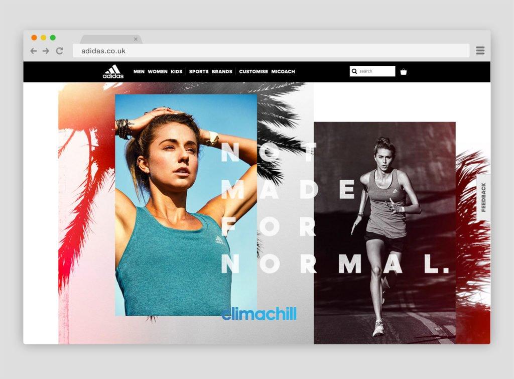 diseño web tipografico