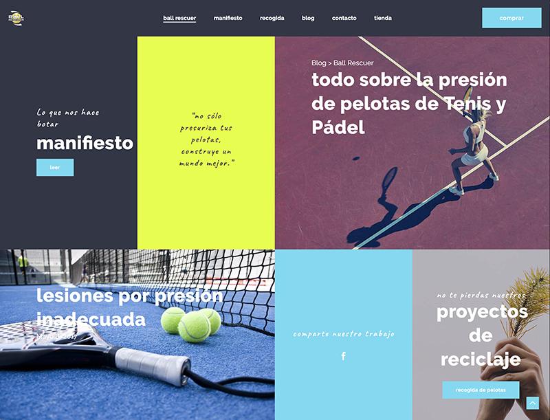 web wordpress blog