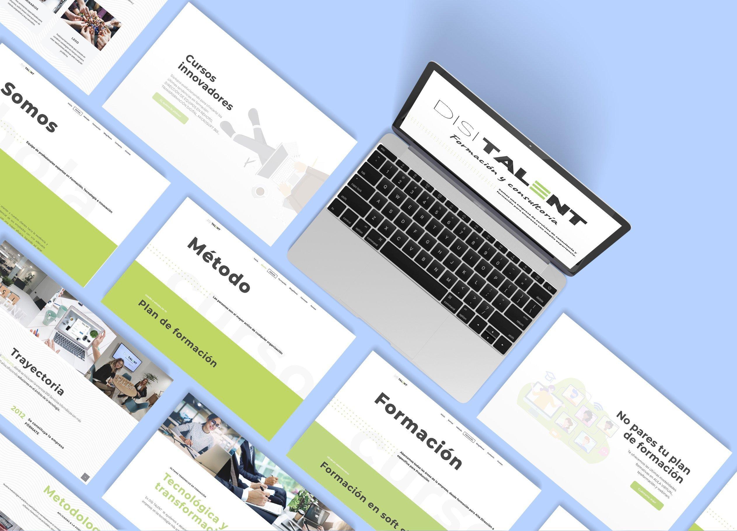 Diseño web de formación